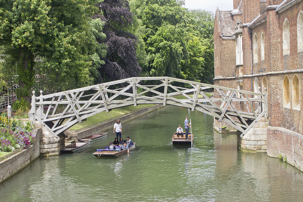 things to do in cambridge, punting in cambridge