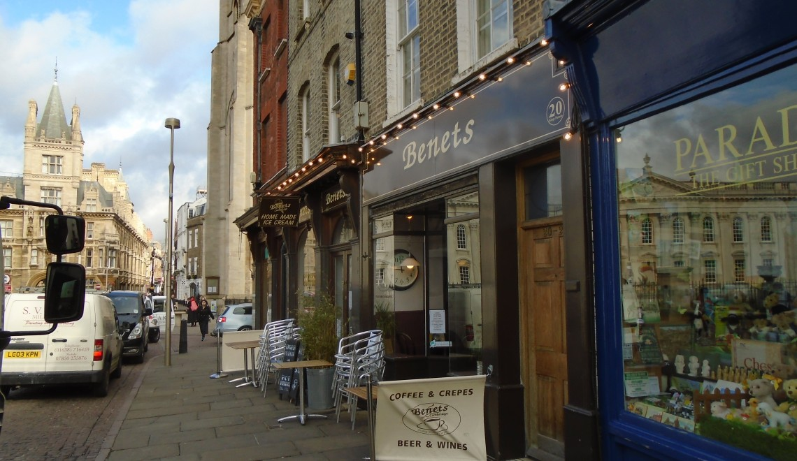 benets cafe, places to eat in cambridge, food in cambridge